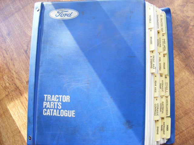 Ford 3610 Tractor Parts Diagram : Ford tractor parts manual
